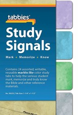 Tabbies Bible Tabs, Study  Signals, Marble 2525