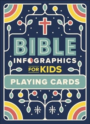 Bible Infographics for Kids Playing Cards 2306