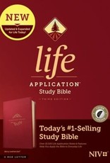 NIV Life Application Bible, Red Letter, Index 5260