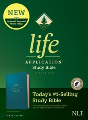 NLT Life Application Bible Red Letter Index 5208