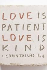 1 Corinthians 13:4 - Small