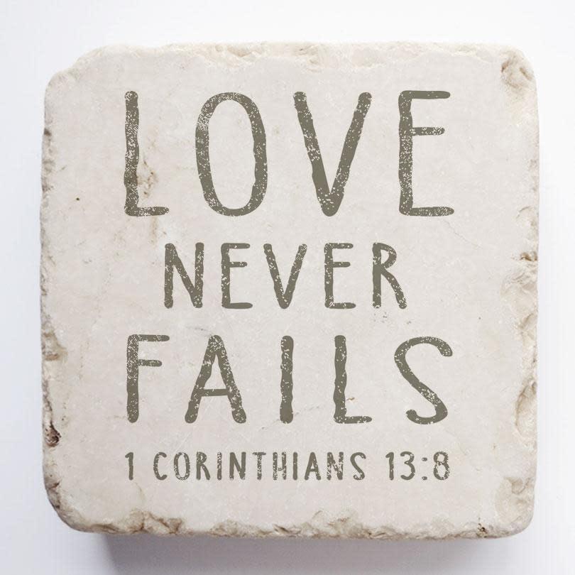 1 Corinthians 13:8 - Large