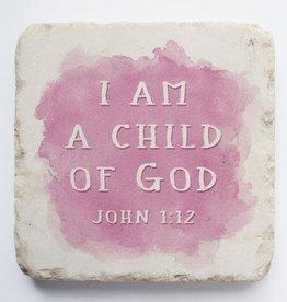 John 1:12 -  Small -Pink