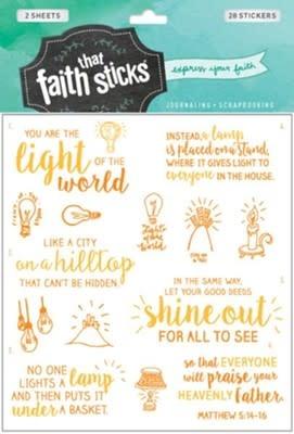 Matthew 5:14-16 Stickers 2981