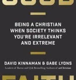 Kinnaman, David Good Faith: 3171