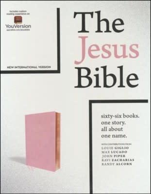 NIV Jesus Bible  Blush - 0788
