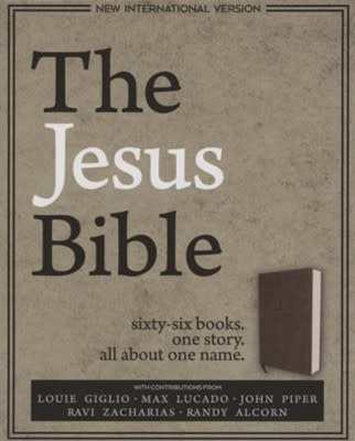 NIV Jesus Bible  Brown 2249