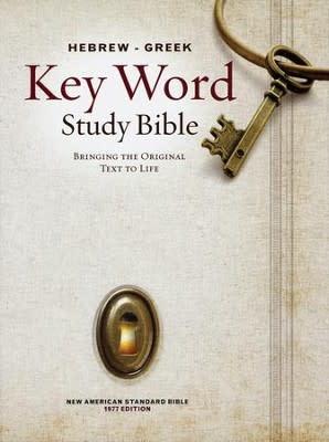 NASB Hebrew-Greek Study Bible 7500