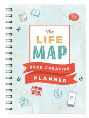 Life Map, The Creative Planner 9820