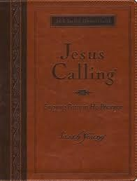 Young, Sarah Jesus Calling, large deluxe brown 8131