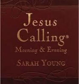 Young, Sarah Jesus Calling Morning and Evening, hardcover 0154