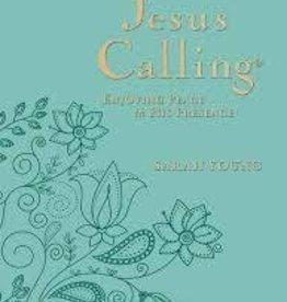 Young, Sarah (blue) Jesus Calling, Large Print, teal 5544