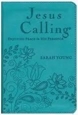 Young, Sarah<br /><br />teal Jesus Calling, small teal 0771