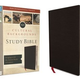 Keener, Craig S NIV (sp. ed) Cultural Backgrounds Study Bible, Red Letter Edition: Bringing to Life the Ancient World of Scripture 1596