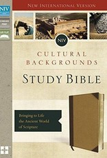 Zondervan NIV Cultural Backgrounds Study Bible, Tan, Red Letter Edition 1602