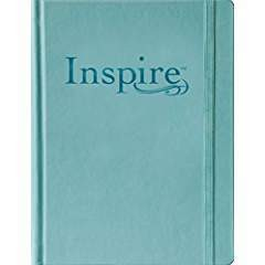 Tyndale NLT Inspire Bible Large Print, The Bible for Creative Journaling 9859