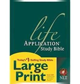 Tyndale House Publishers NLT Life Application Study Bible Large Print 7206