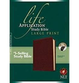 Tyndale NLT Life Application Study Bible, Large Print 7916