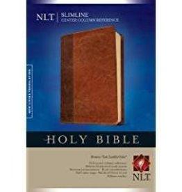 Zondervan NLT Slimline Center Column Reference Bible, TuTone 7082