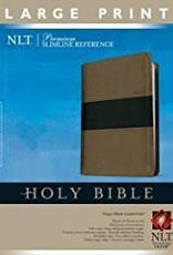 Tyndale NLT Slimline Reference Large Print, tutone brown/black 5113