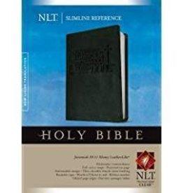 Tyndale NLT Slimline Reference, black 8682