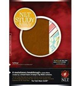 Tyndale NLT Study Bible, quilt/tutone 7708
