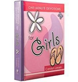 One Minute Devos for Girls 6772