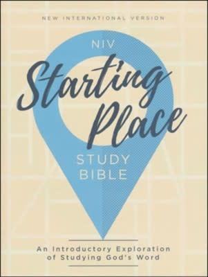 NIV Starting Place Study Bible 0672