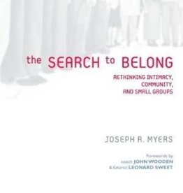 Myers, Joseph R. Search to Belong, The 5000