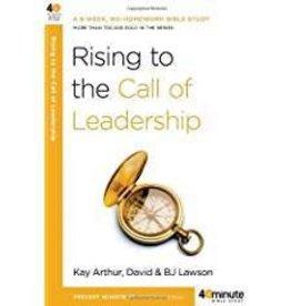 Arthur, Kay Rising to the Call of Leadership 1466