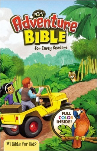 Zonderkidz NIrV Adventure Bible for Early Readers rev 7422