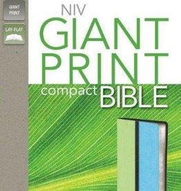 Zondervan NIV Compact Bible, green/turq 5327