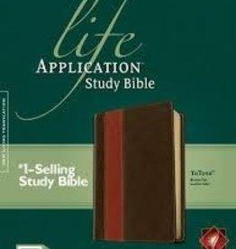 Tyndale House Publishers NLT Life Application Bible tu-tone 8640
