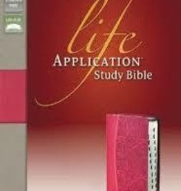 Zondervan NIV Life Application Study Bible  Pink Red Letter 2264,