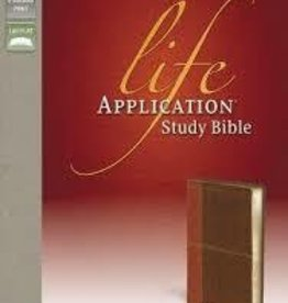 Zondervan NIV Life Application Study Bible, caramel 4573