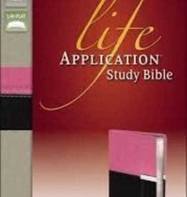 Zondervan NIV Life Application Study Bible, choc/orchid 4719