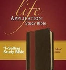 Tyndale House Publishers NIV Life Application Study Bible, tan/brown 9786