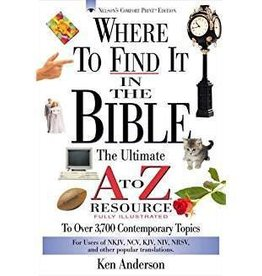 Anderson, Ken Where To Find It In the Bible