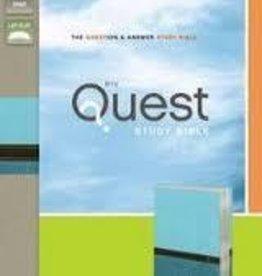 Zondervan NIV Quest Bible, turq 9657