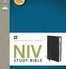 Zondervan NIV Study Bible, black/brown 7468