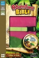 NIV Adventure Bible (Full Color)-Pink/Melon Green DuoTone  7545