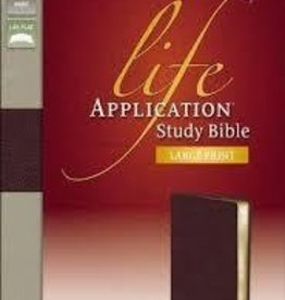 Zondervan NIV, Life Application Study Bible, Large Print 4825