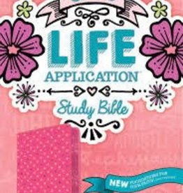 Tyndale NLT Girls Life Application Study Bible, pink 7795