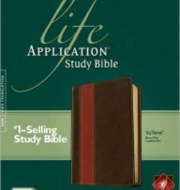 Tyndale House Publishers NLT Life Application Study Bible, tan 8640
