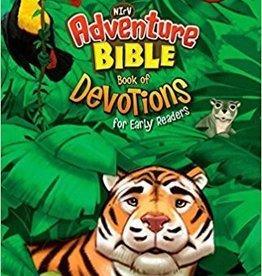 Zonderkids NIrV Adventure Bible book of Devotions 6171