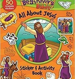 Pulley, Kelly Beginner's Bible, The All About Jesus Sticker 6935