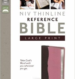 Zondervan NIV Thinline Reference Bible (Italian Duo-Tone), Pink 6447