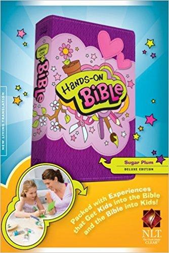 Tyndale NLT Hands-On Bible (Updated Edition)-Sugar Plum 8283