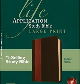 Tyndale House Publishers NLT Life Application Study Bible Large Print 5458