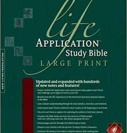 Tyndale NLT LIfe Application Study Bible Large Print 3214